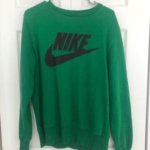 Vintage Green Nike Crewneck - Medium
